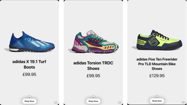 Snap-Adidas