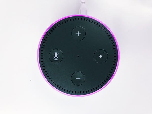 black-Amazon-echo-dot speaker